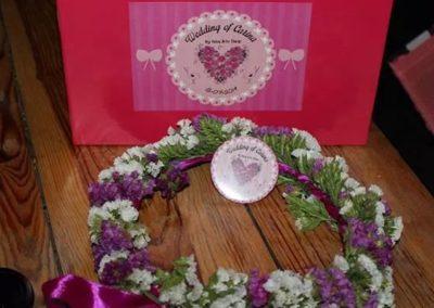 Corona di fiori per matrimonio
