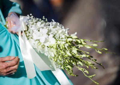 Dettaglio bouquet sposa matrimonio a Pisa