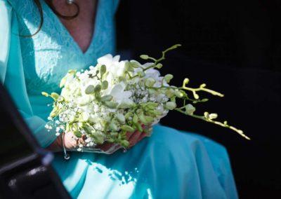 Bouquet da sposa realizzato dal Fiore all'Occhiello Pisa