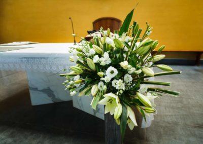 Fiori matrimonio per allestire chiesa