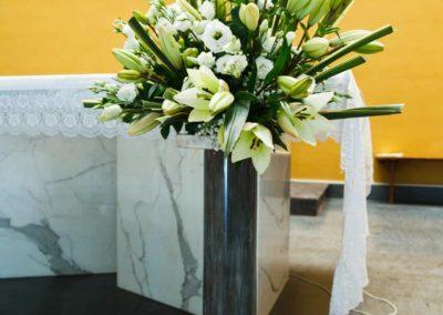 Composizioni floreali per chiesa del Fiore all'Occhiello