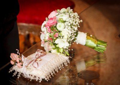 Bouquet sposa del Fiore all'Occhiello fioraio per matrimonio