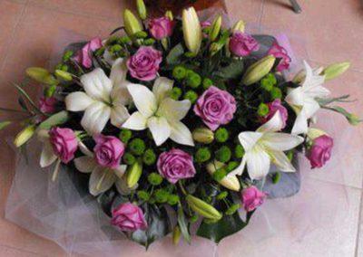 composizione floreale del fiore all'occhiello di pisa